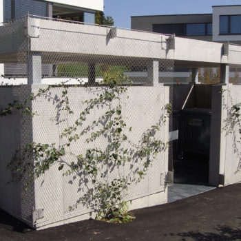 Kontainerhaus mit Webnet